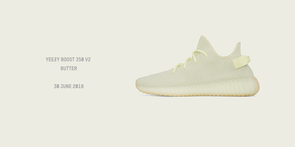 sports shoes 77ca5 ba547 YEEZY BOOST V2 350 BUTTER - OUT JUNE 30TH