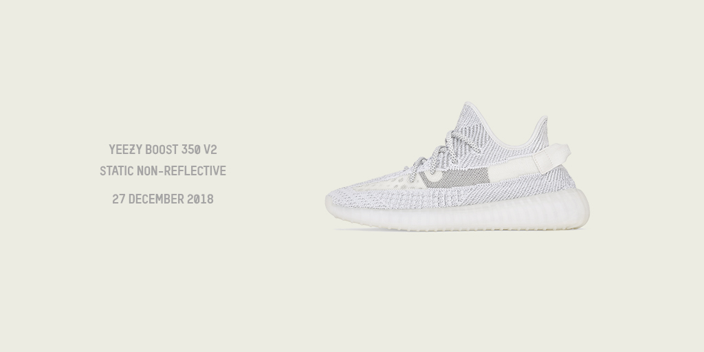 watch fa4c8 dd39b YEEZY BOOST V2 350 STATIC NON-REFLECTIVE - OUT DECEMBER 27TH