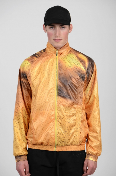 COTTWEILER Gold Monogram Track Jacket 1