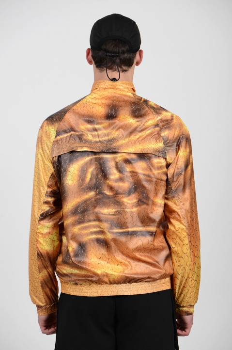 COTTWEILER Gold Monogram Track Jacket 2