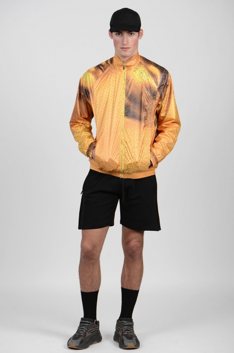 COTTWEILER Gold Monogram Track Jacket 3