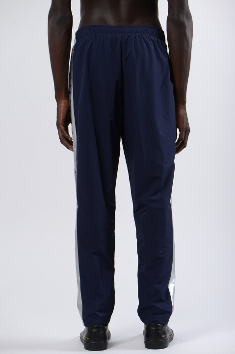 POLO RALPH LAUREN Silver Navy Blue Sport Trousers 3