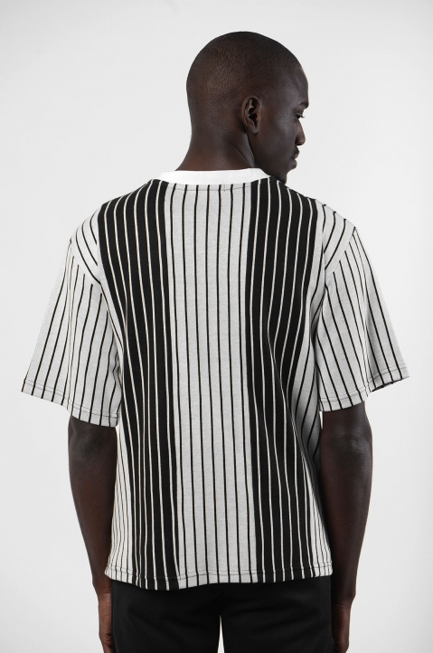 NYCOLE Patchwork Stripes T-shirt 1
