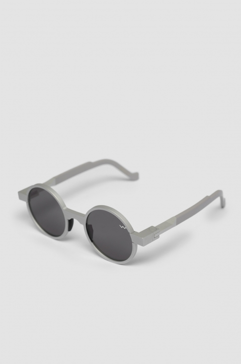 VAVA WL0016 Silver Sunglasses w/ Black Lenses 1
