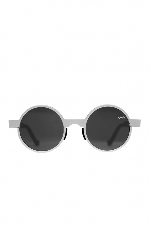 VAVA WL0016 Silver Sunglasses w/ Black Lenses 0