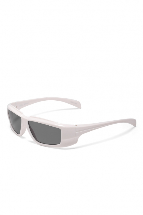 RICK OWENS The Rick Frame Cream/Black Sunglasses 1
