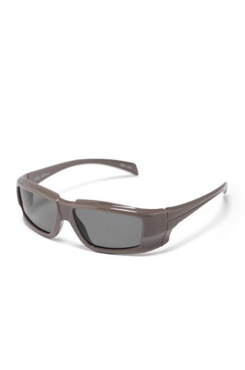 RICK OWENS The Rick Frame Grey/Black Sunglasses 1