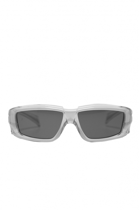RICK OWENS The Rick Frame Transparent/Black Sunglasses 0