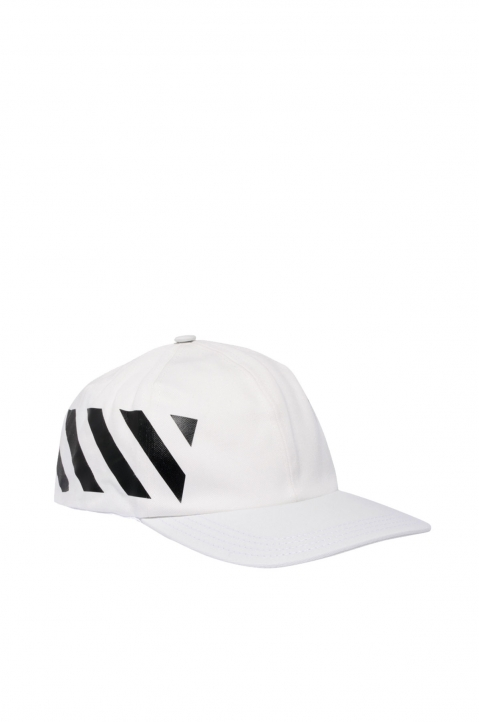 OFF-WHITE Diagonal White Cap 0