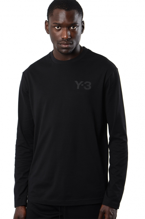 Y-3 Logo Black L/S T-shirt 0