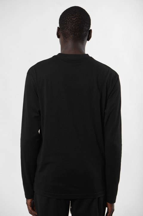 Y-3 Logo Black L/S T-shirt 2