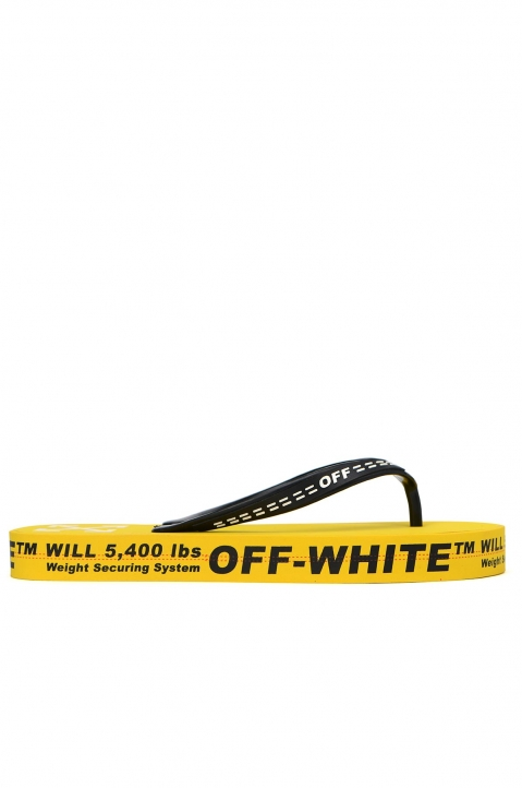 OFF-WHITE Yellow Flip Flops 0