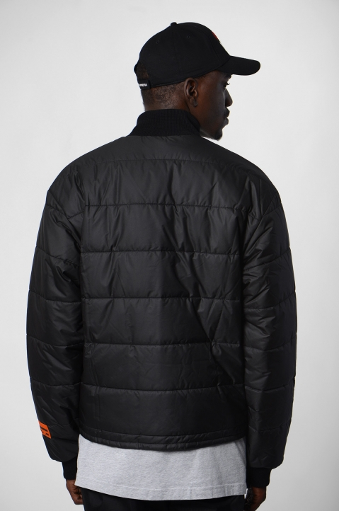 HERON PRESTON Black Thin Puffer Jacket 1