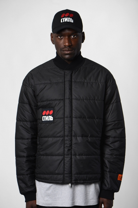 HERON PRESTON Black Thin Puffer Jacket 2