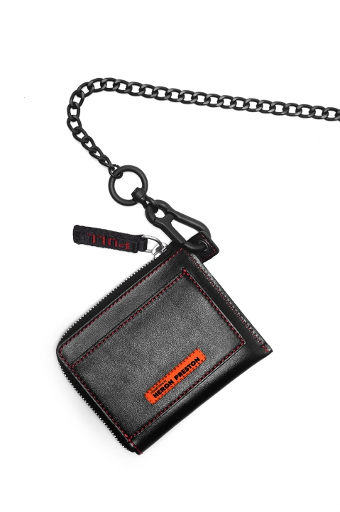 HERON PRESTON Leather Zip Wallet 2