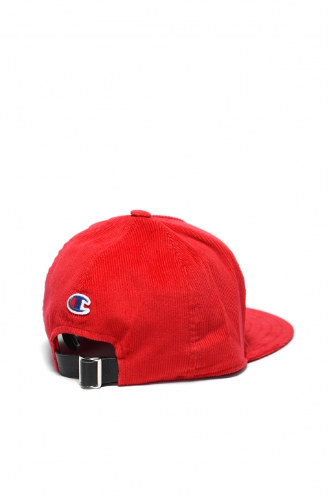 CHAMPION X CLOTHSURGEON Red Corduroy Cap 1