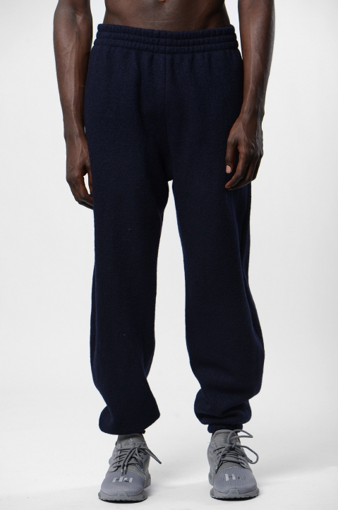 GMBH Navy Wool Joggers 1
