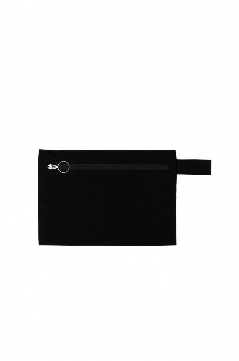 "OFF-WHITE Black ""LAUNDRY"" Pouch 1"