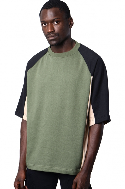 DAVID CATALÁN 3 Colors Khaki T-shirt 0
