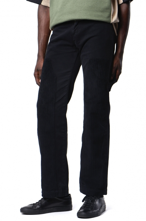 DAVID CATALÁN Wide Leg Black Jeans 0