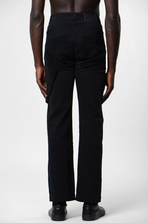 DAVID CATALÁN Wide Leg Black Jeans 2