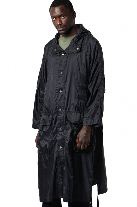 DAVID CATALÁN Black Nylon Parka 0