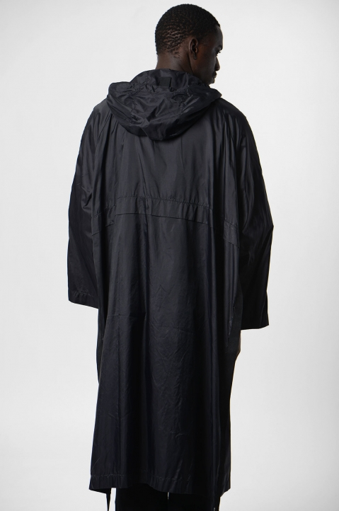 DAVID CATALÁN Black Nylon Parka 2