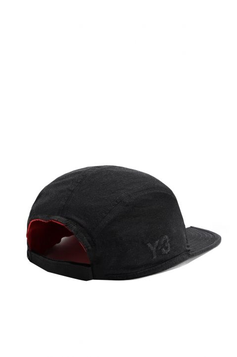 Y-3 BLACK REVERSIBLE CAP 1