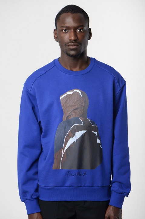 JUUN.J Blue Sweatshirt 1