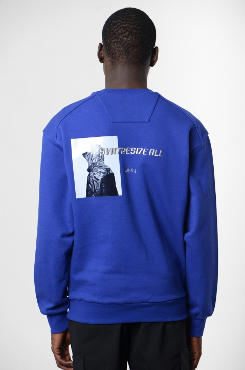JUUN.J Blue Sweatshirt 2