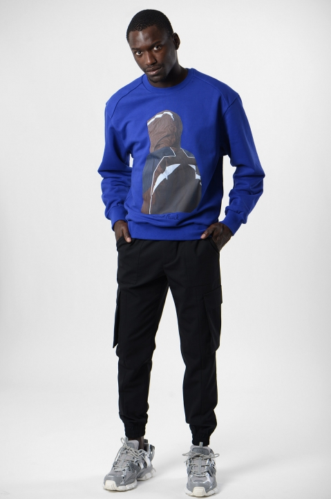 JUUN.J Blue Sweatshirt 3