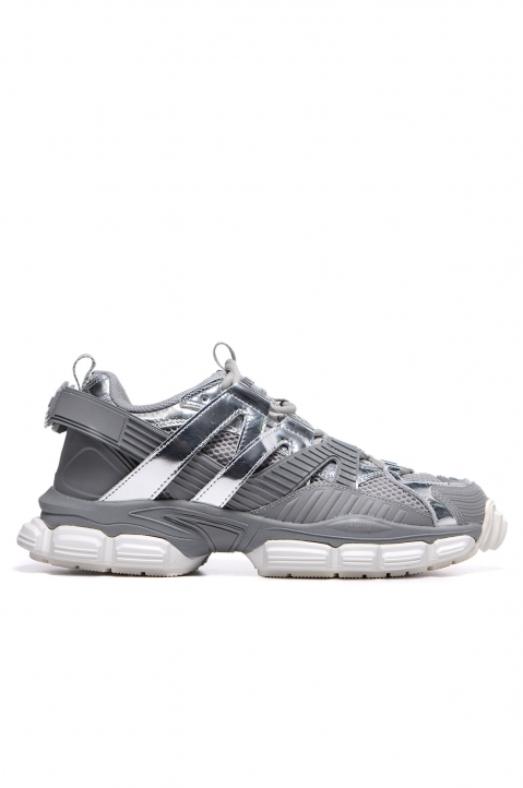 JUUN.J Grey/Silver Low Top Sneakers 0