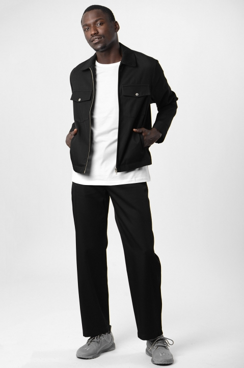 ADISH Black Wool Jacket 3