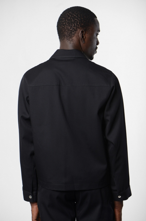 ADISH Black Wool Jacket 2