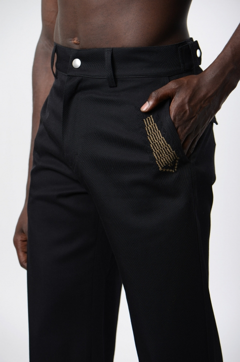 ADISH Saro Black Trousers 3