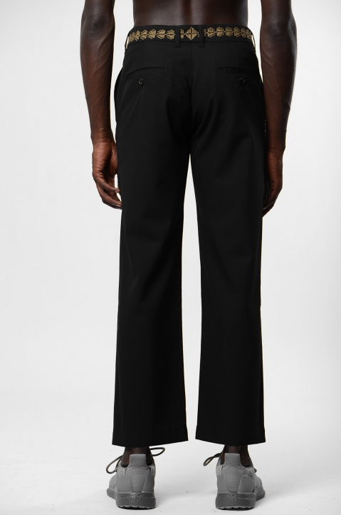 ADISH Tailored Saro Black Trousers 1