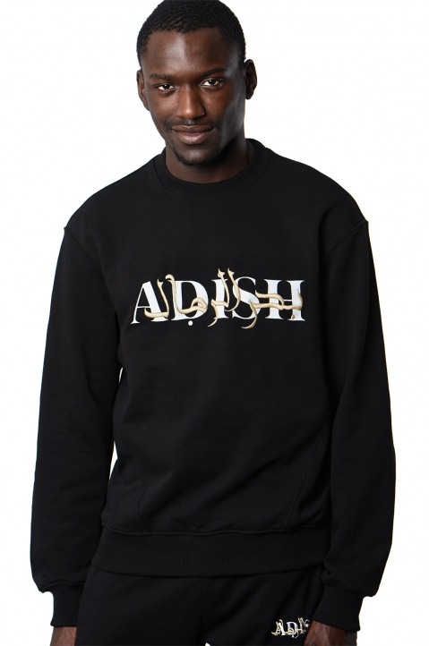 ADISH Embroidered Black Sweatshirt 0