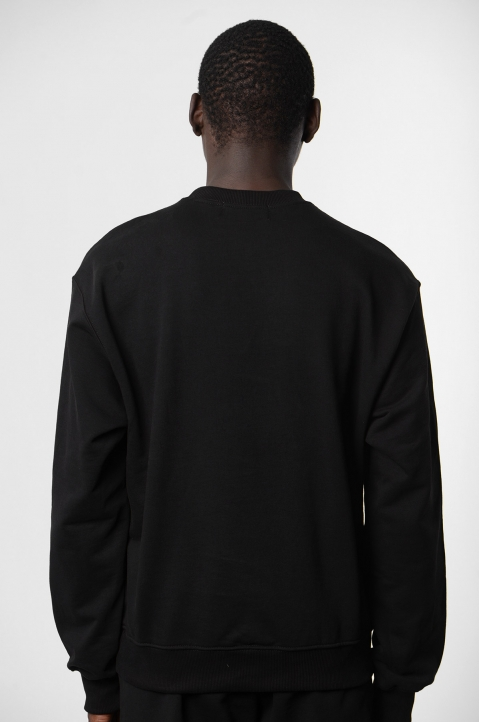 ADISH Embroidered Black Sweatshirt 1