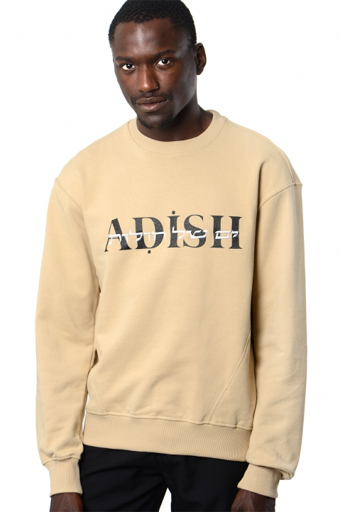 ADISH Embroidered Beige Sweatshirt 0