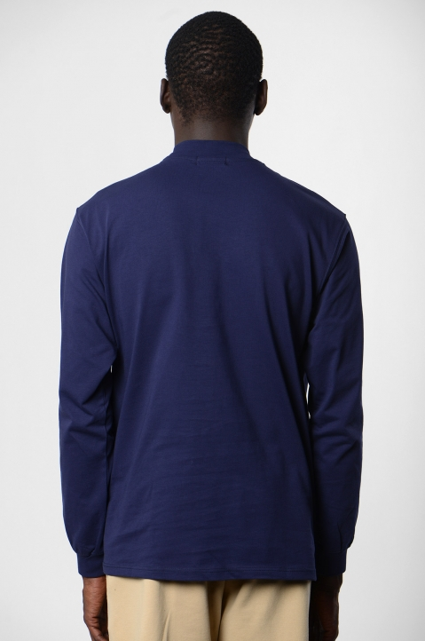 ADISH Embroidered Blue L/S T-shirt 2