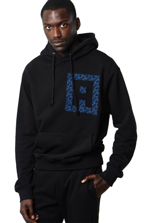 ADISH Black Hooded Sweatshirt 0