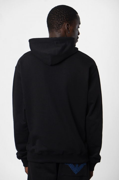 ADISH Black Hooded Sweatshirt 2