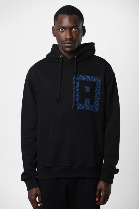 ADISH Black Hooded Sweatshirt 1