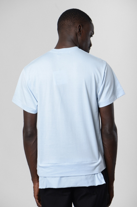 AMBUSH Blue Waist Pocket Tee 2