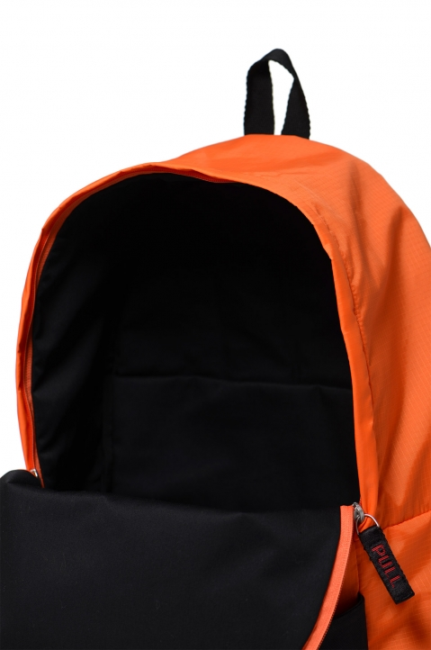 HERON PRESTON Orange Fanny Backpack 3