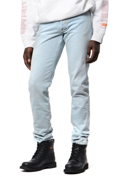 HERON PRESTON 5-Pocket Bleached Jeans 0