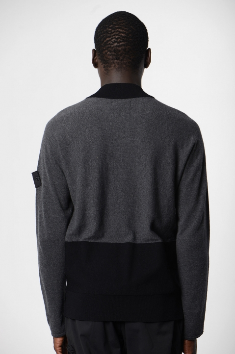STONE ISLAND Shadow Project Wool Blend Sweater 1