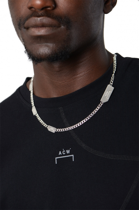 A-COLD-WALL* Logo Silver Necklace 1