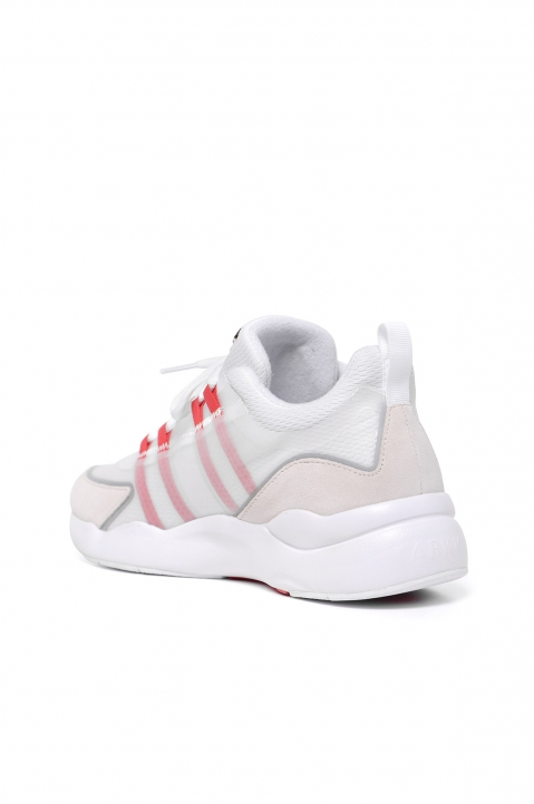 ARKK Lyron Mesh F-PRO90 White/Red Sneakers 1