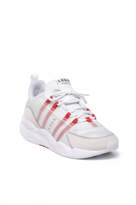 ARKK Lyron Mesh F-PRO90 White/Red Sneakers 2